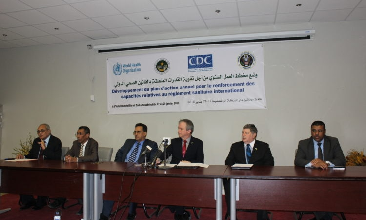 Mauritania to Co-host Launching of International Health Regulations/Global Health Security Strategic Planning and Implementation Meeting