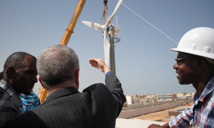 Completion of the Department's Largest Wind Turbine at the new U.S. Embassy in Nouakchott, Mauritania