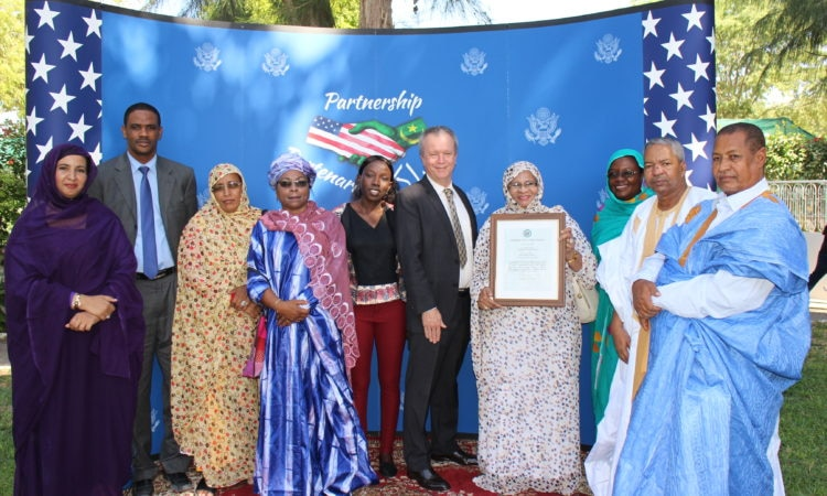 2017 Mauritanian Woman of Courage Award Winner
