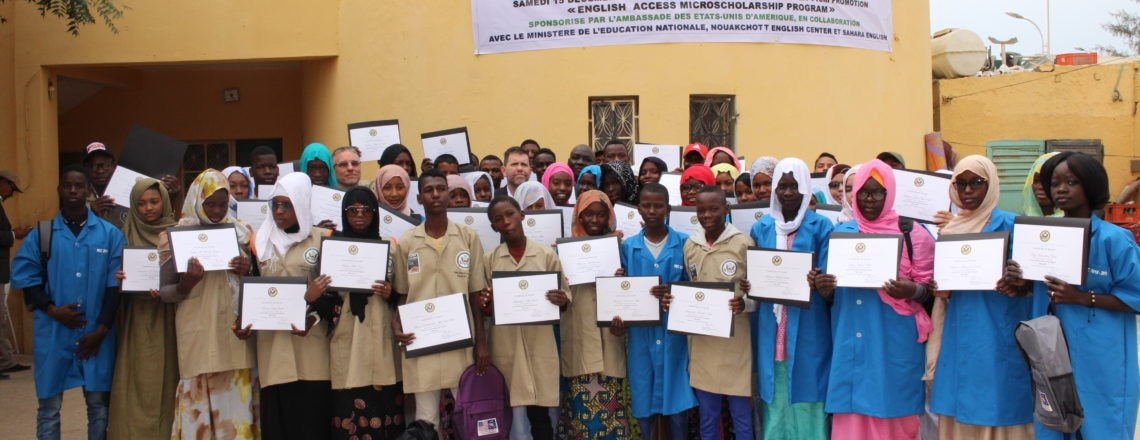 The U.S. Embassy supports the Education Sector in Mauritania