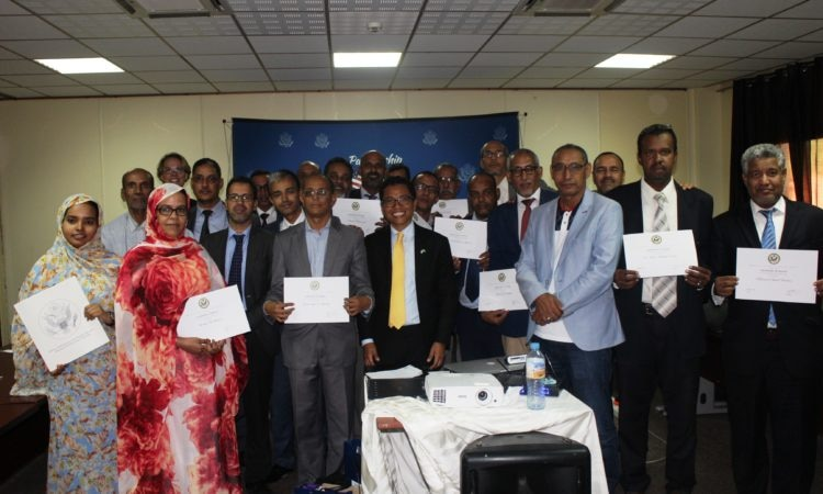 Training seminars for Government of Mauritanian Spokespersons and Young Journalists